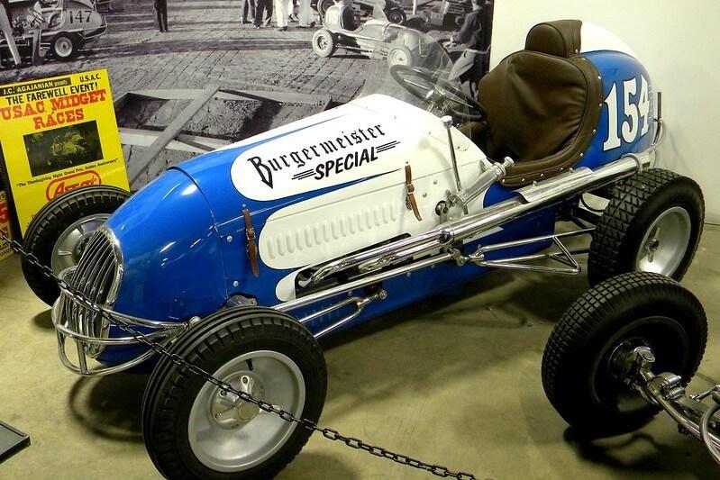 1940s Kurtis Kraft Midget Racer