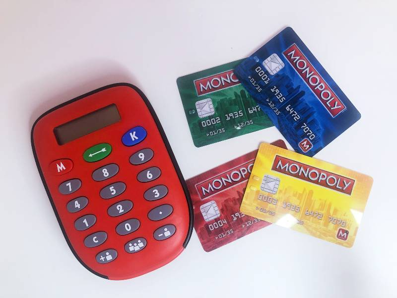 Monopoly Electronic Banking Unit and Cards