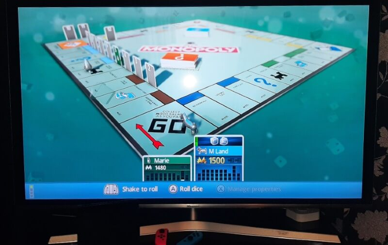 Monopoly Switch on TV
