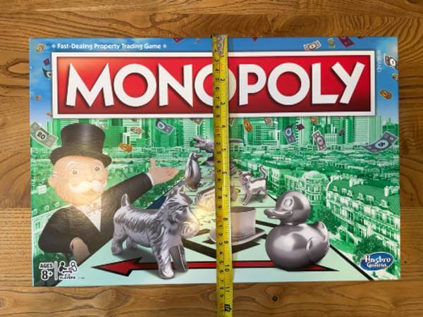 Monopoly box height