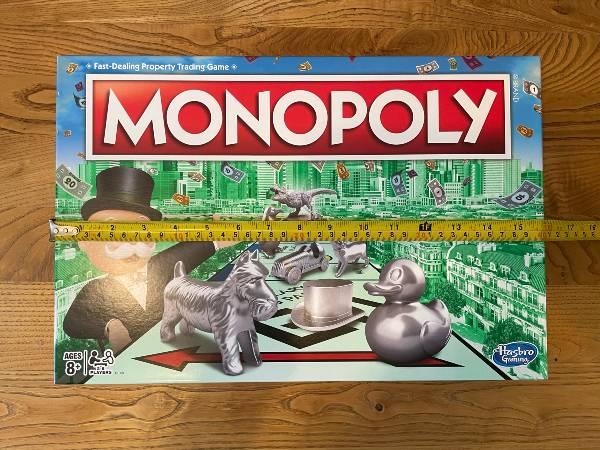Monopoly box width