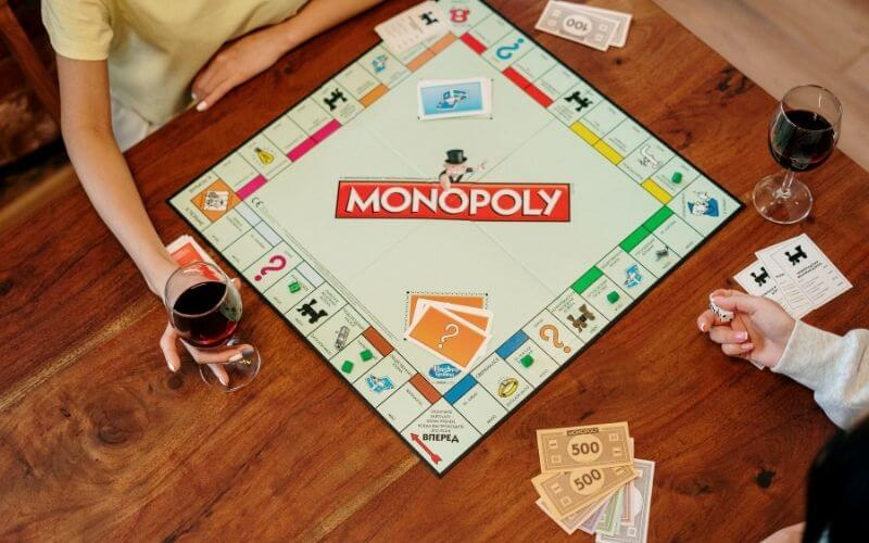 Monopoly with two players
