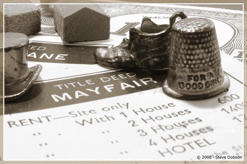 Old Monopoly Thimble