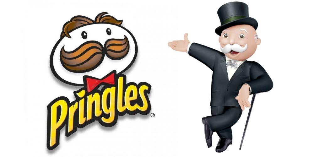 Pringles guy vs Monopoly guy