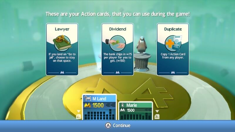 Monopoly Switch Action Cards