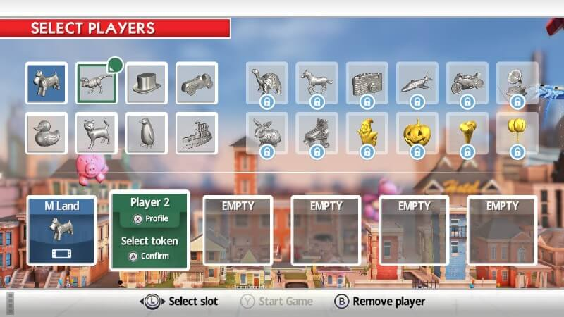 Monopoly Switch player names
