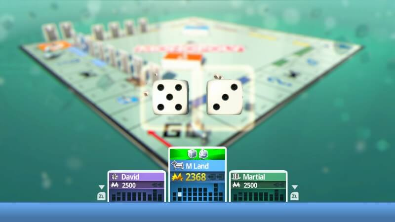 MonopolY Switch dice roll