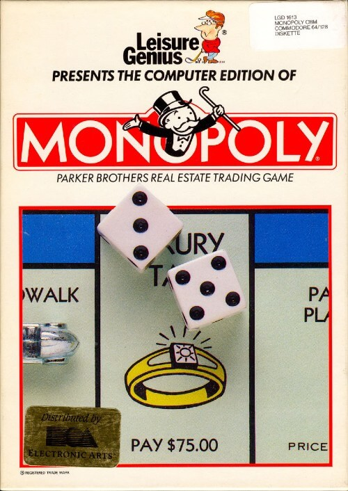 First Monopoly video game