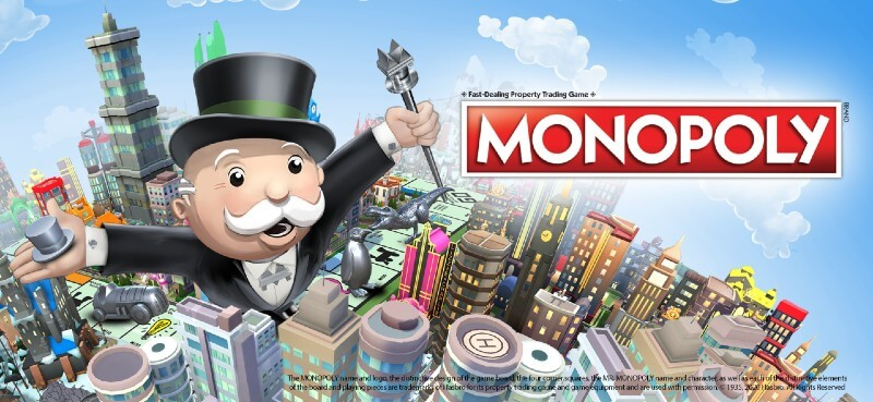Monopoly mobile app game