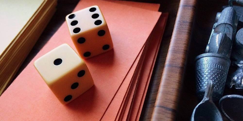 Wooden Monopoly set